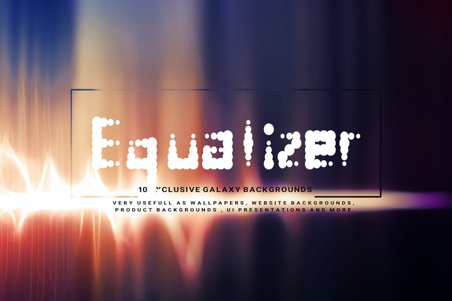 Abstract Equalizer Backgrounds
