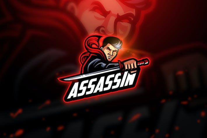Thumbnail for Assassin - Mascot & Esport Logo