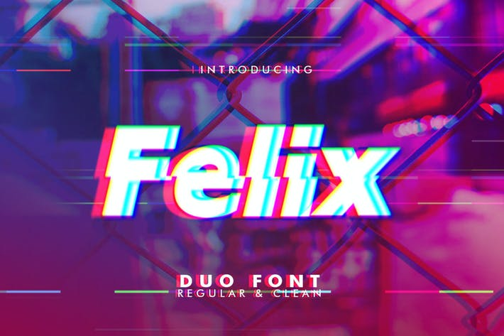 Cover Image For Felix Duo Font