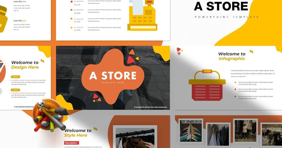 Download A Store | Powerpoint Template by Vunira