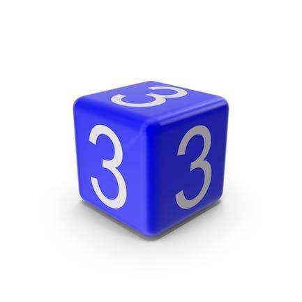 Blue 3 Block