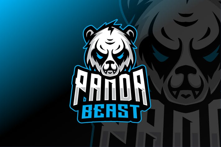 Thumbnail for Panda Sport and Esport Logo Template