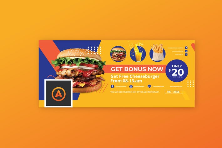 Thumbnail for Food Promo Facebook Cover