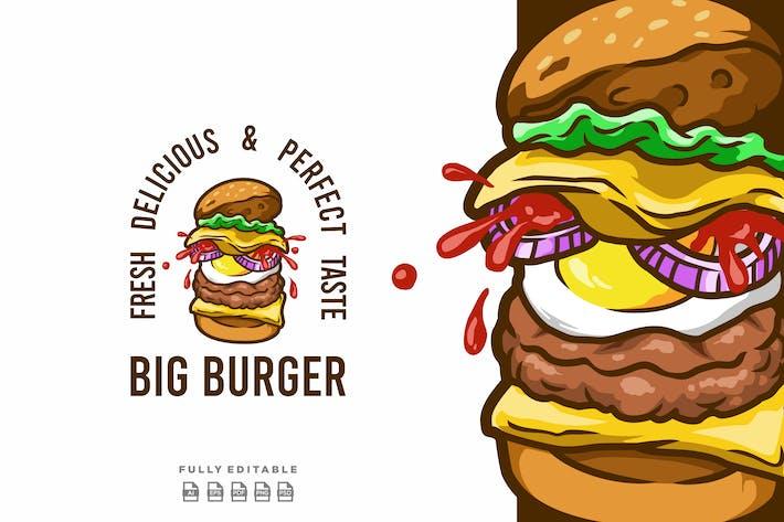 Big Burger Hamburger Logo