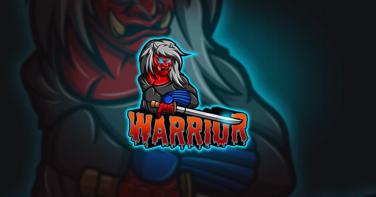 Download Warrior - Mascot & Esport Logo by aqrstudio