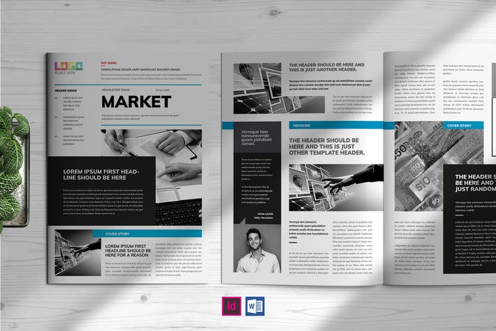 Market | Newsletter Template