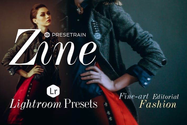 Thumbnail for Zine Fashion Lightroom Presets