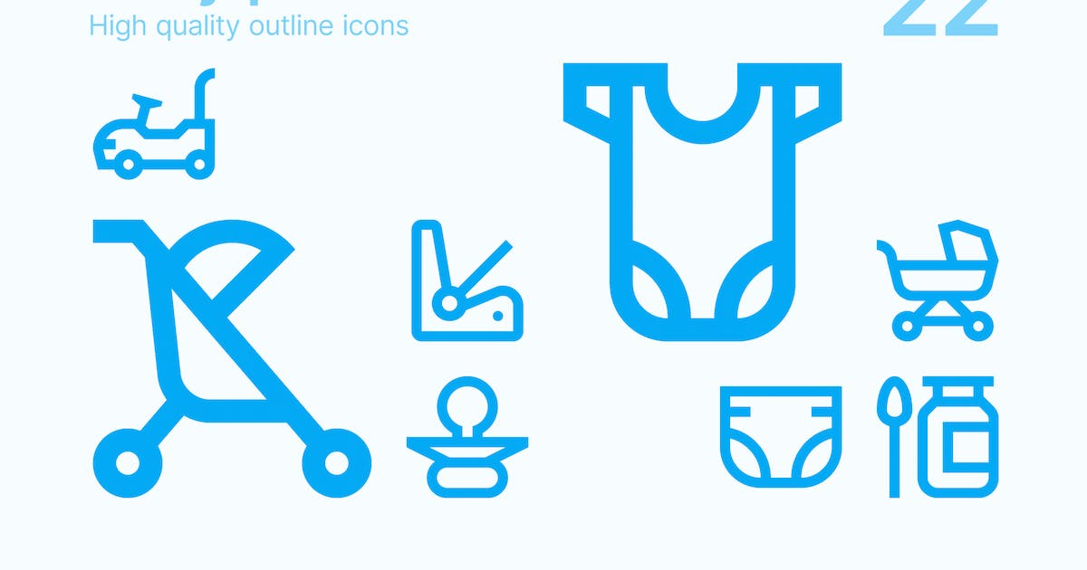 Download Baby Products Icons by polshindanil
