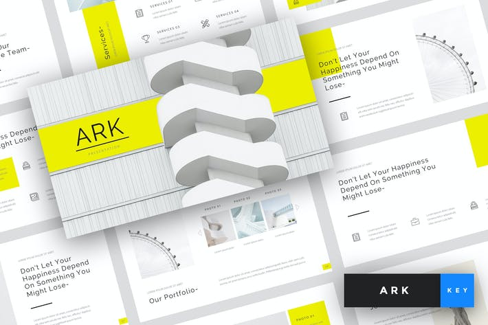 Ark - Architecture Keynote Template