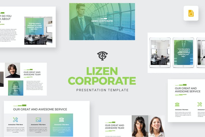Thumbnail for Lizen Corporate -  Google Slides