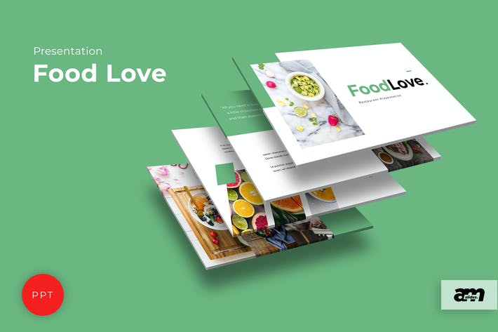 Food Love  Powerpoint