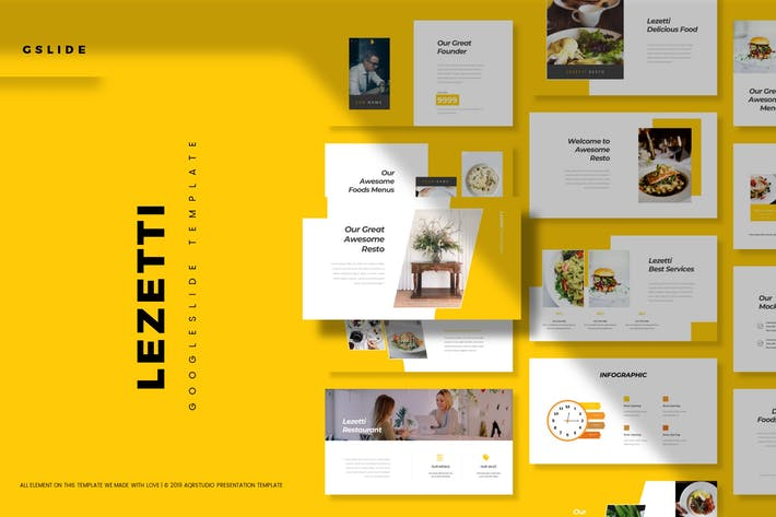 Thumbnail for Lezetti - Google Slide Template
