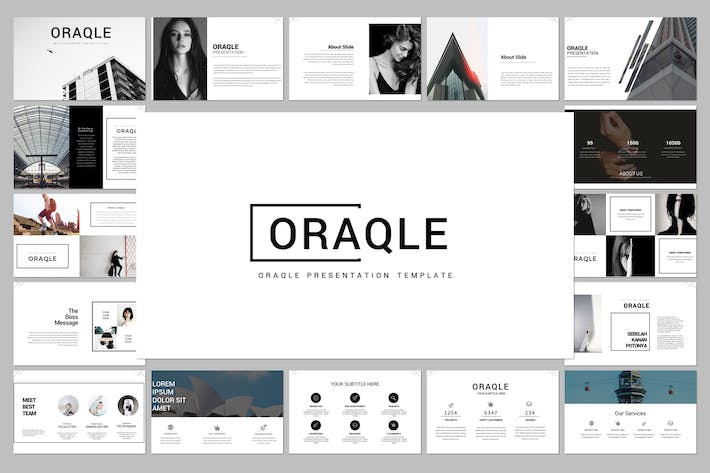 Thumbnail for Oraqle Google Slide Template