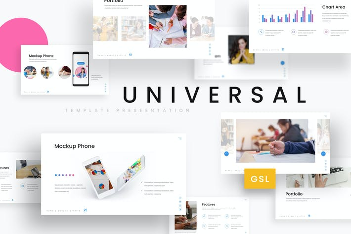 Thumbnail for Universal - Education Google Slides Template