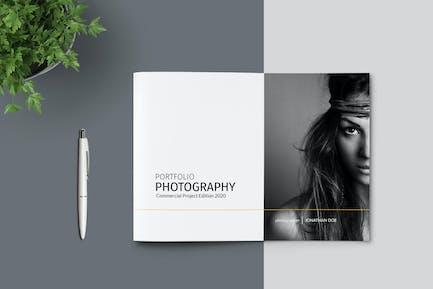 A5 - Photography Portfolio Template