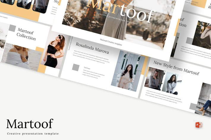 Thumbnail for Martoof - Powerpoint Template