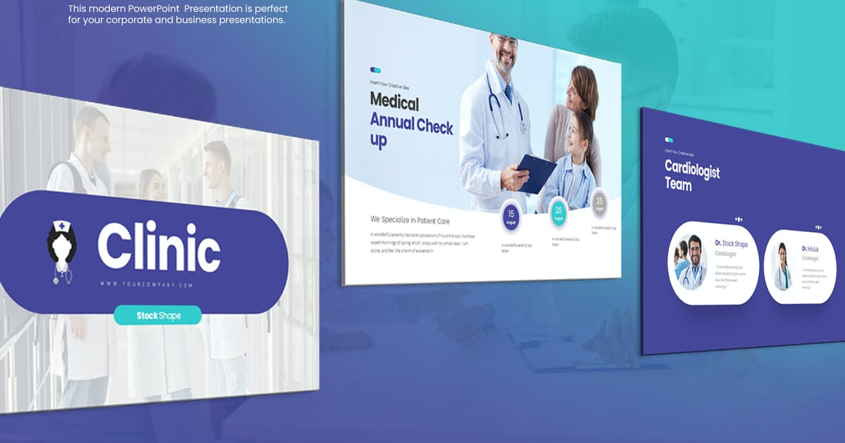 Download Clinic PowerPoint Presentation by StockShape