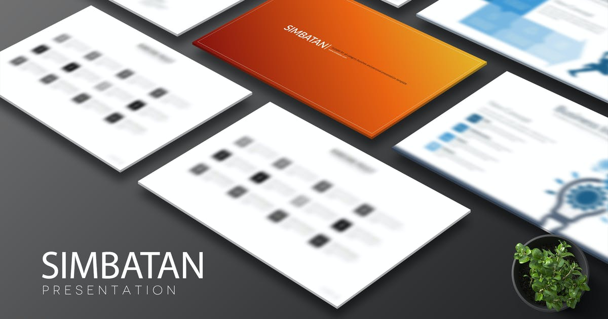 Download Simbatan Powerpoint by Artmonk