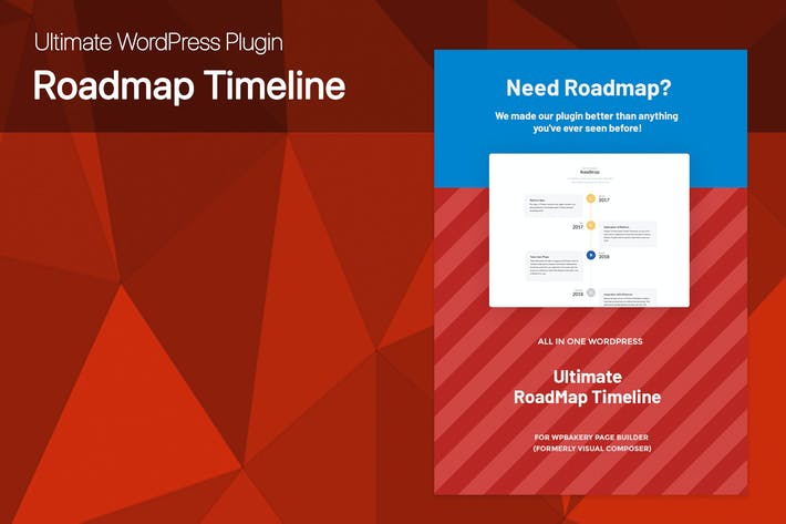 Ultimate Roadmap Timeline WordPress plugin