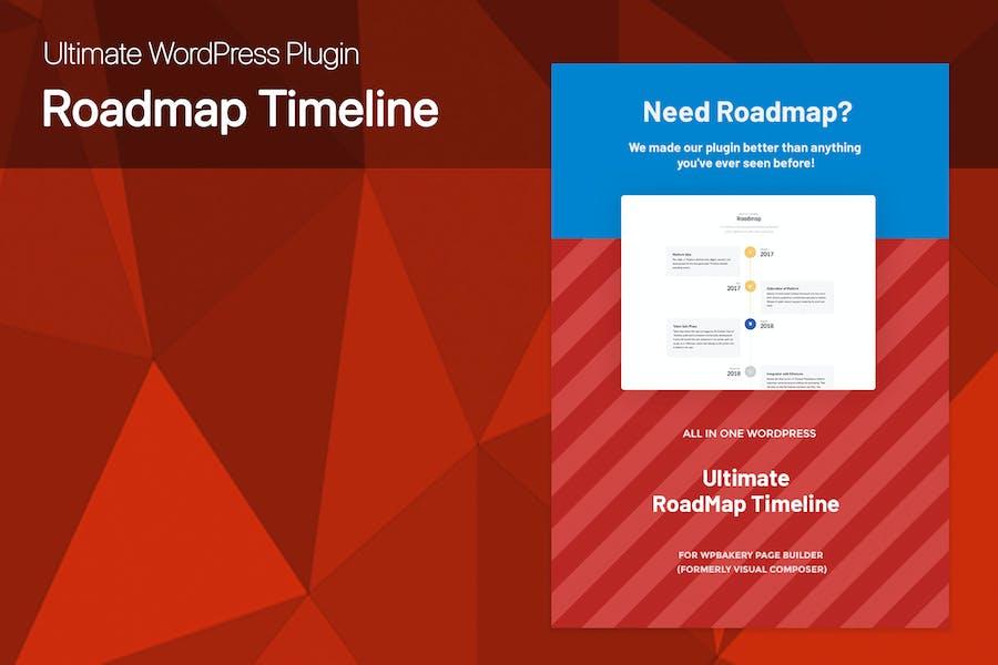 Ultimate Roadmap Timeline WordPress plugin