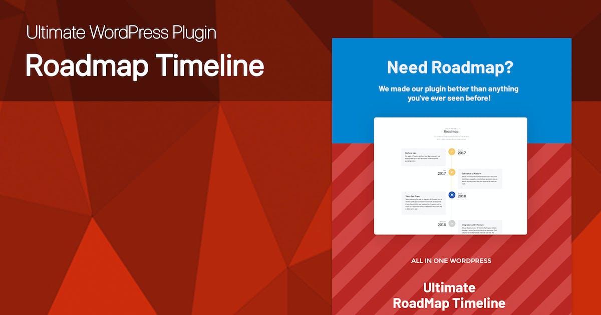 Ultimate Roadmap Timeline WordPress plugin by dedalx on Envato Elements
