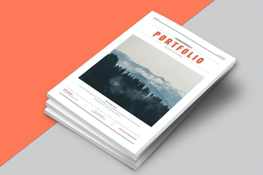 Hipster Portfolio Brochure