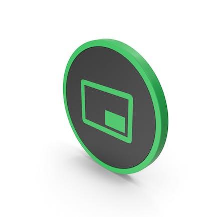 Icon Mini Player Green