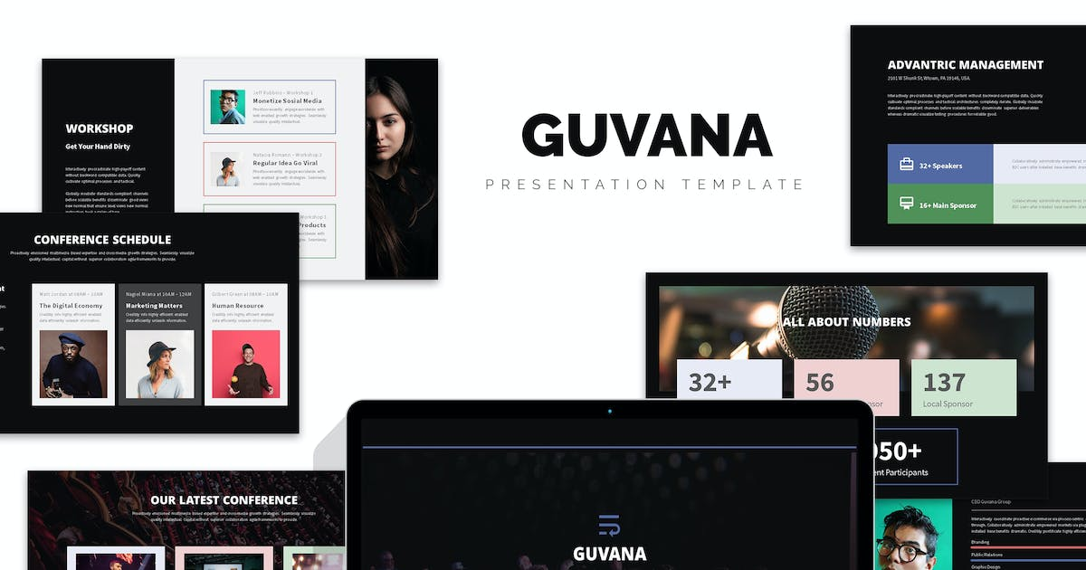 Download Guvana : Event, Seminar, Conference Keynote by punkl