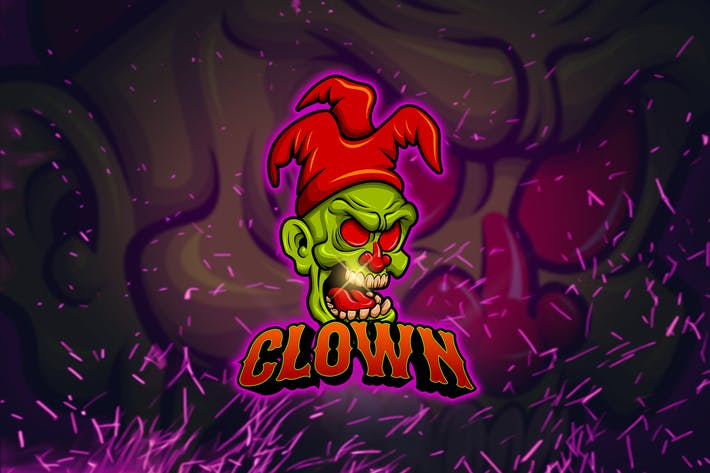 Thumbnail for Clown - Esports Mascot Logo