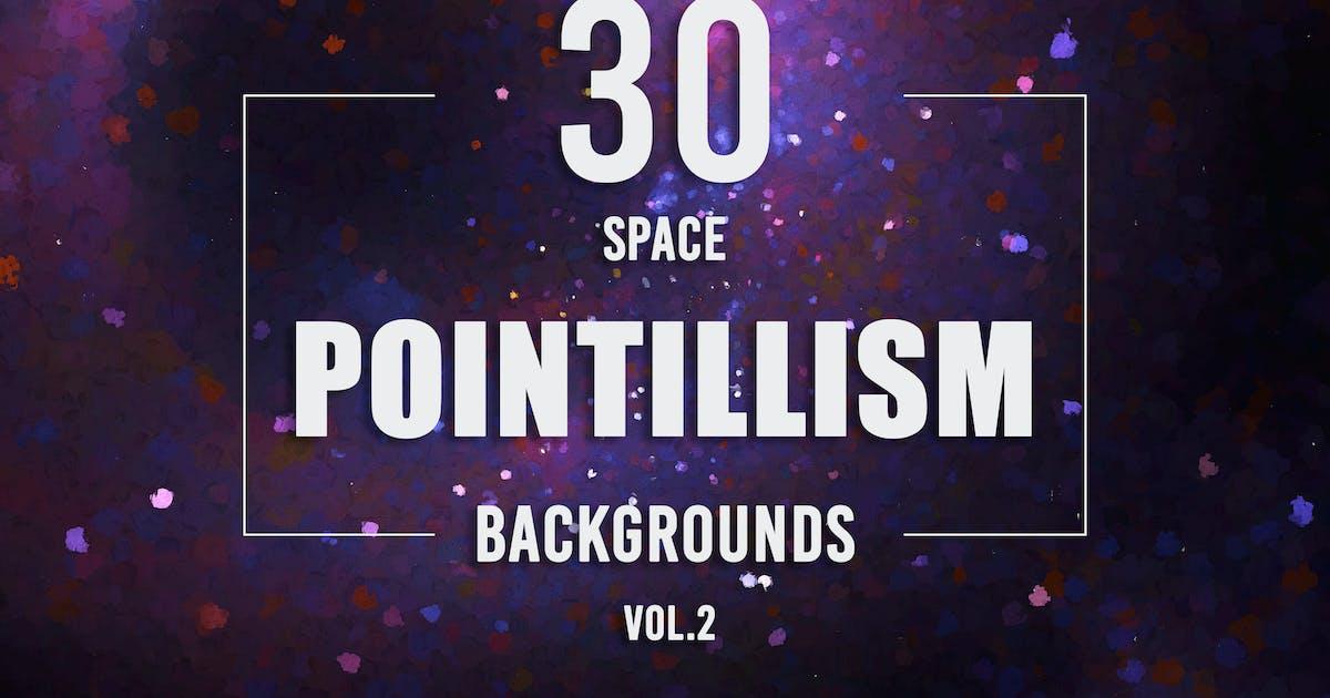 Download 30 Pointillism Space Backgrounds - Vol. 2 by Eldamar_Studio