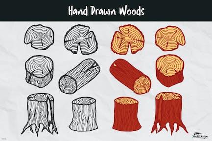 Hand Drawn Woods
