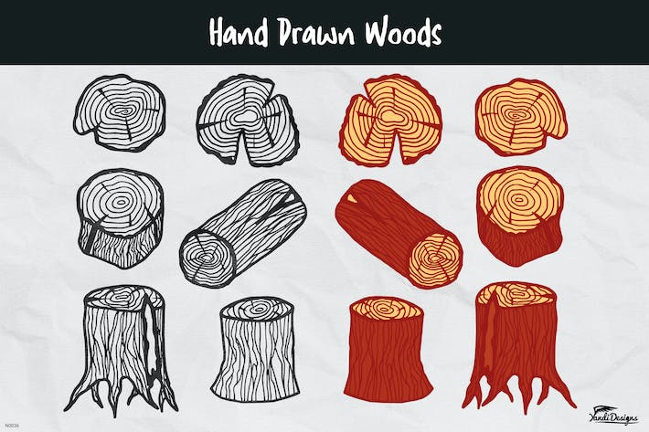Thumbnail for Hand Drawn Woods