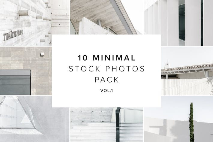 Thumbnail for 10 Minimal Stock Photos Bundle vol.1