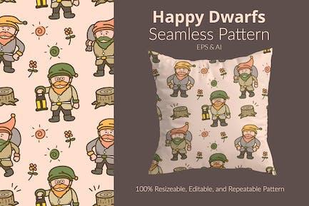 Happy Dwarfs Pattern