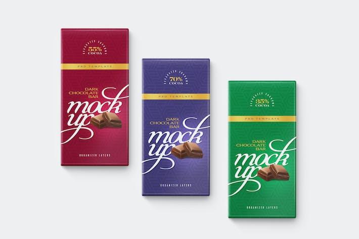 Шоколадный бар макап