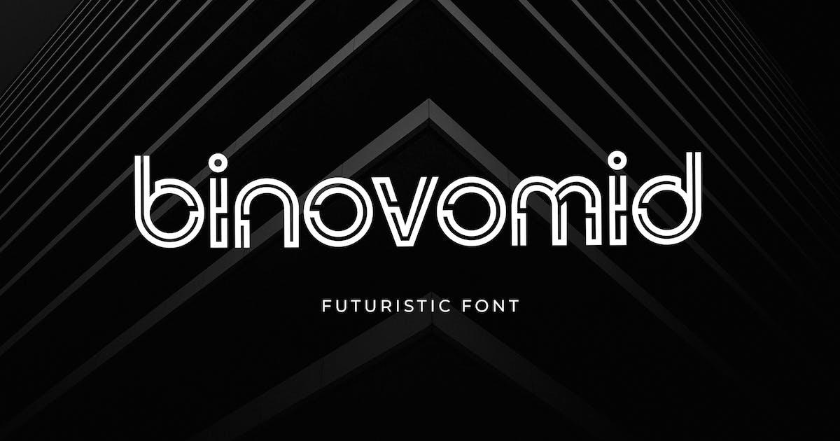 Download Binovomid Sans Serif Font by uicreativenet
