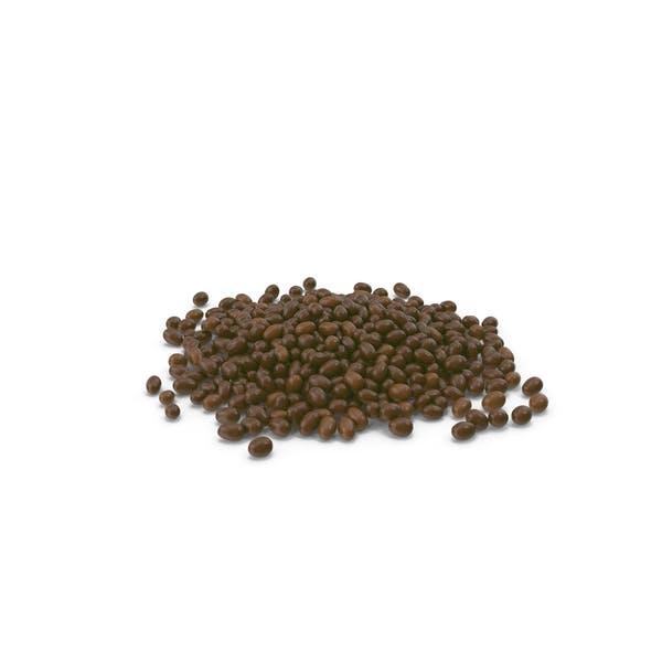 Pile Of Chocolate Peanuts