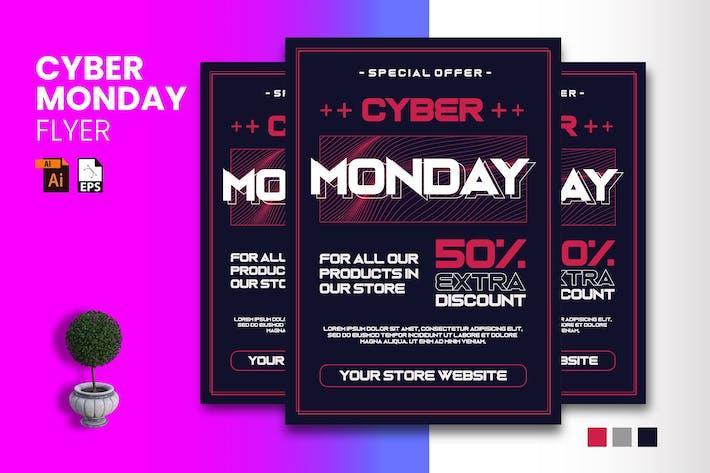 Cyber Monday Flyer Design Vol. 01