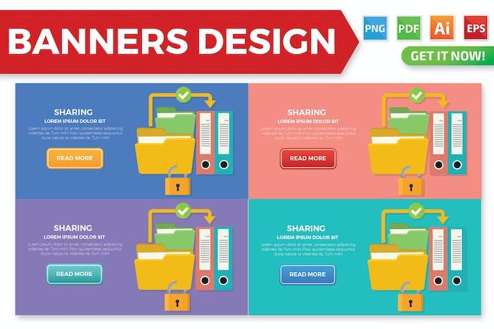 Thumbnail for Share banner design