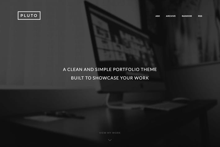 Thumbnail for Pluto - Modern Portfolio Theme