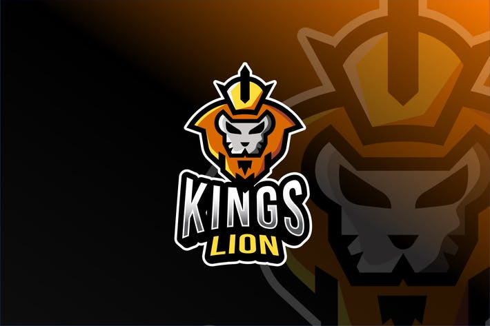 Thumbnail for Kings Lion Esport Logo Template