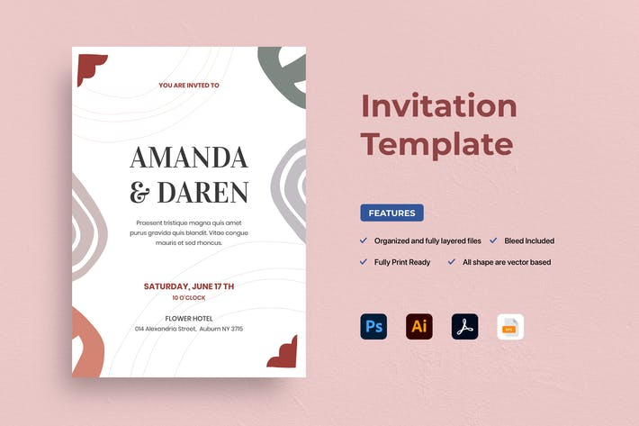 Thumbnail for Invitation de mariage