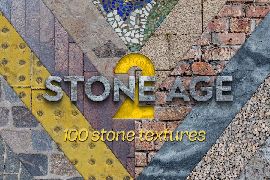 Stone Age II - 100 stones textures
