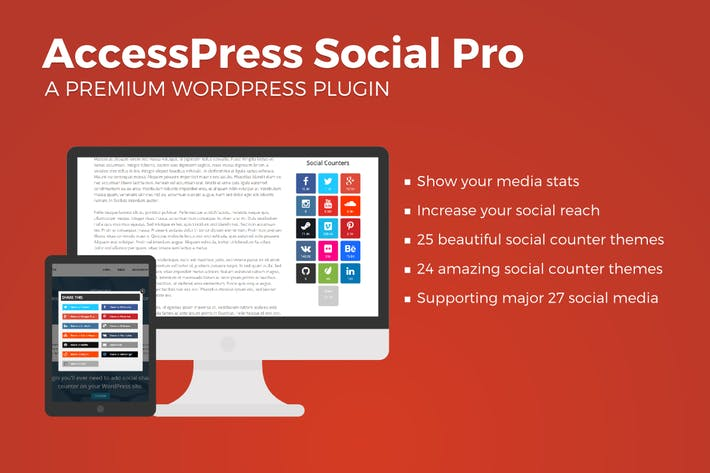 Cover Image For AccessPress Social PRO