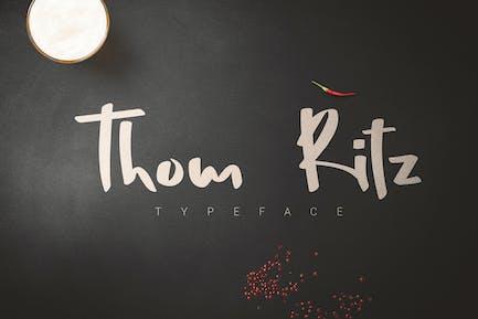 Thom Ritz Tipo de letra