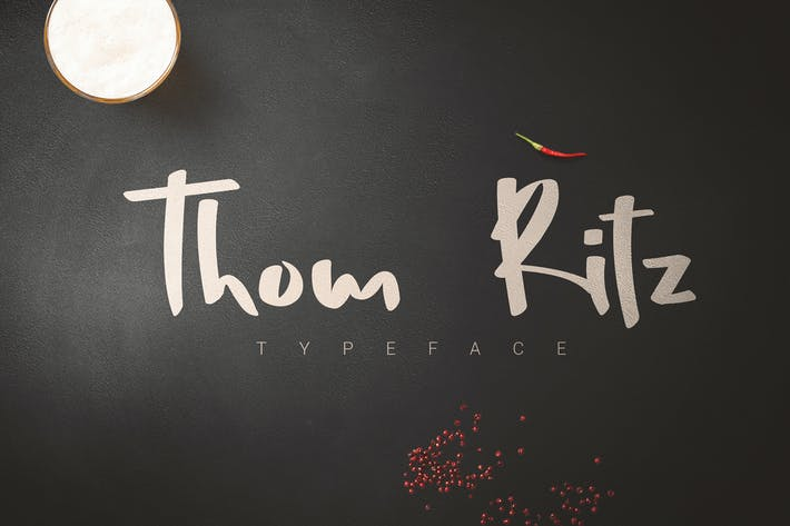 Thumbnail for Thom Ritz Typeface