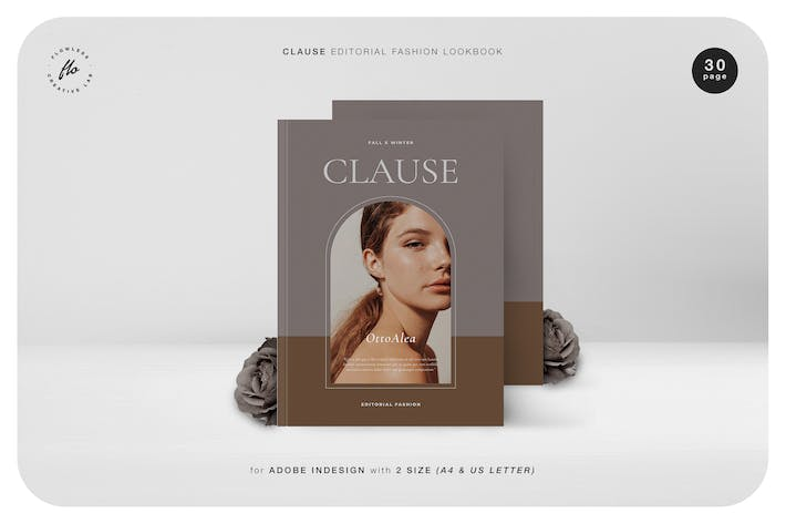 Thumbnail for Clause Editorial Fashion Lookbook