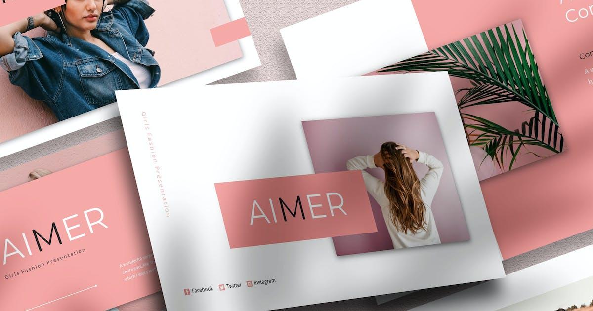 Download Aimer - Girls Fashion PowerPoint by raseuki