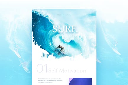 Surfing Landing Page