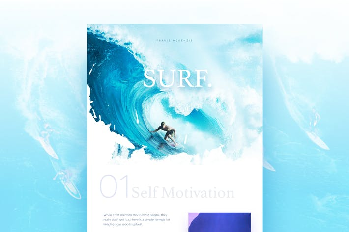 Thumbnail for Surfing Landing Page